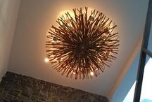 Chandeliers with an attitude / Tired of boring lighting ? We have just the chandelier for you. INFERNO Ball chandeliers and Branches Chandeliers.