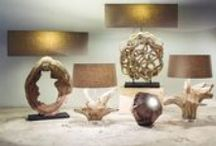 New Lighting Collection / New driftwood and wooden lights from O'THENTIQUE by Asian Design House