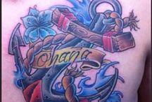 trabajos new school / Tatuajes newschool diseñados y tatuados por Alex Llampallas