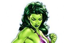 ✩ She-Hulk