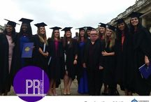 Graduation 2015 / MA Public Relations and BA Public Relations & Communications students mark their graduation in the summer of 2015.