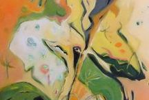 ABSTRACTS - Paintings by TLJoseph / Abstract Paintings by Therese Lydia Joseph