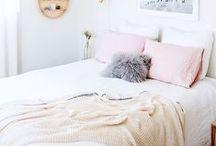 Interiors // Bedroom / Bedroom inspiration.