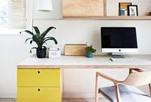 Interiors // Home Office / Home office & work space goals for every girlboss!