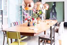 Interiors // Dining Room / Delicious dining rooms.