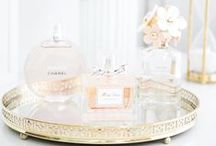 Interiors // Dressing Table / Dreamy dressing table styling.