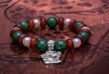 Mayan inspired Jewelry / Jewelry collection inspired by the Mesoamerican Mayan art. Combined with the precious gemstone Jade, valuable more than gold and a charm of good luck and health for the Mayas.