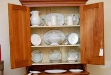 The Butler's Pantry / Silver, serving pieces, and china.