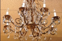 Luxurious Lighting / Chandeliers, floors lamps and table lamps we LOVE.