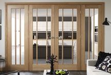 French Doors, Internal French Doors, Interior French Doors at Emerald Doors / https://www.emeralddoors.co.uk/internal-french-doors