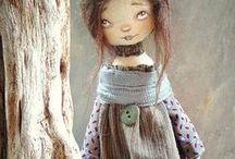 umělecké hračky, panenky  - art dolls