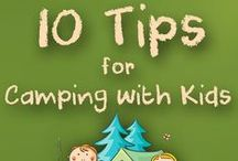 Kids Camping Ideas / Fun things for the kids to do. #CampingActivities #OutdoorFun #Kids #Campground #WheatleyON #CampingInOntario #GoodSam