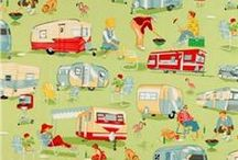 Camping Past / Vintage, retro and antique.