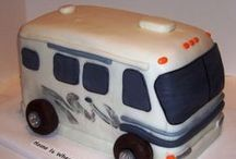 Edible Camping / #Cookies #Cakes and other goodies. Edible everything #Camping