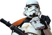 ストームトルーパー  stormtroopers / starwars  storm-trooper clone-trooper sand-trooper snow-trooper scout-trooper etc