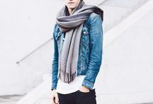 How to wear scarf for men