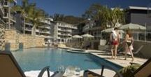 Mantra Aqua Resort / Fully equipped Resort style living apartments in the heart of Nelson Bay. Find out more http://www.portstephens.org.au/stay-in-port-stephens/nelson-bay/mantra-aqua-resort