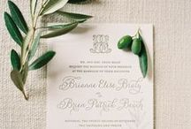 w e d . i n v i t a t i o n s / wedding invitations and paper goods / by Carla Gates Photography