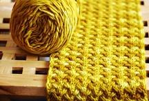 Knit Stitches / by Annie Johnson