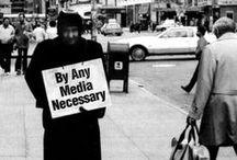 Tactical media / (media) (art) against neoliberalism / surveillance (media) / oppressive governments