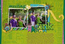 Britt-ish Designs pages / Scrapbook pages using Britt-ish Designs products. / by Julie Goldovitz