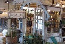 Inspiring Displays / Creative displays for shops but adaptable to your home! / by Come Into My Garden