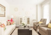 Living Rooms / Interior Design of Living and Family Room