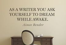 Writing Quotes / All the truth that's fit to pin on writing. Word.