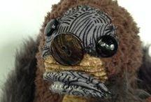 angimal zoo / Handmade stuffed animals from reclaimed and upcycled fabrics.