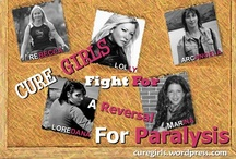 Cure Girls / Our mission is to tell the world what it's really like living with a spinal cord injury. We want a CURE for CHRONIC SPINAL CORD INJURY. http://curegirls.wordpress.com/