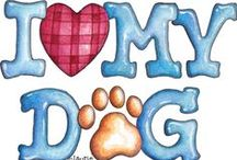 **Dog Love ** / Welcome to Dog Love!! Pin your favorite quotes, poems or thoughts about dog love only..please no spam or non-relevant items!!!  / by MomBHM