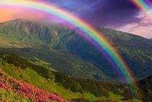 **Nature: Rainbow Magic** / Welcome to Rainbow Magic!! Pin your favorite rainbow photos or poems about rainbows only..please no spam or non-relevant items!!!