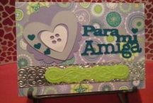 Tarjetas Carmina / tarjetas amor y amistad.