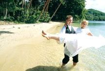 Fiji Weddings / Jean-Michel Cousteau Resort is renowned destination for weddings. Have a traditional Fijian wedding right on the beach! / by Jean-Michel Cousteau Resort, Fiji