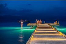 Dining at Jean-Michel Cousteau / Dining on the Pier. Visit us: www.fijiresort.com