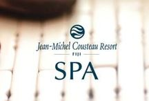 Spa & Wellbeing Fiji / Jean-Michel Cousteau Resort, Fiji offers world-class pampering in our spa. Visit us: http://www.fijiresort.com