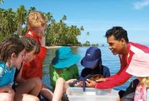 Bula Club / Children have a blast with their own activities!  Our complimentary  Bula Club includes separate programs for children 5 and under and those between ages 6 and 12. / by Jean-Michel Cousteau Resort Fiji