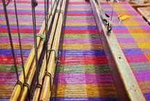 On the Loom / Tweed on the Loom