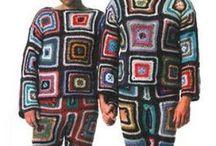 Garnpyssel: kläder / by Sandra Stafberg