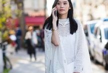 total WHITE outfits / Total white outfits style bloggers models streetstyle