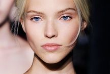 FACE: Sasha Luss / model beauty makeup outfits