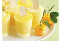 Summer Popsicles / Creative ways to make your own popsicles this summer