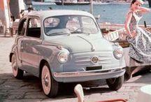 Dream Vehicles / Fiat 500, Beetle, Mini, Vespa, vintage bikes, ... for a happy ride