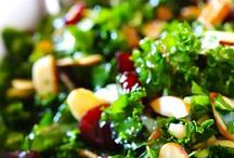 Salad / Appealing, fresh and healthy portions of salad