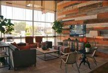 A Church Lobby | Kathy Ann Abell Interiors / Journey Community Church, San Diego