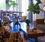 A Café | Kathy Ann Abell Interiors