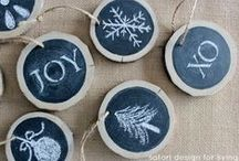 Crafty Holidays. / The holidays are coming, and like everything else we do, we want our to be crafty. (-: