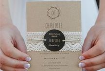 Wedding Stationery / Wedding stationery for your big day including 'Save the Date' cards wedding invitations, table names, order of services and table place names. The board includes handmade wedding stationery and printable templates for wedding stationery.