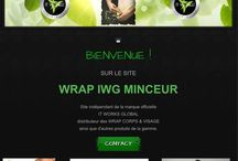 "IT WORKS GLOBAL / Gamme de produits corps et visage de la marque ""IT WORKS GLOBAL"", dont le produit phare ""Le Wrap Ultime Applicateur Corporel"""