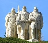 Slavic warriors / History reenactment